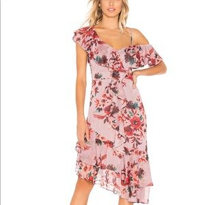 Lovers + Friends Stacy Dress in Holiday Floral